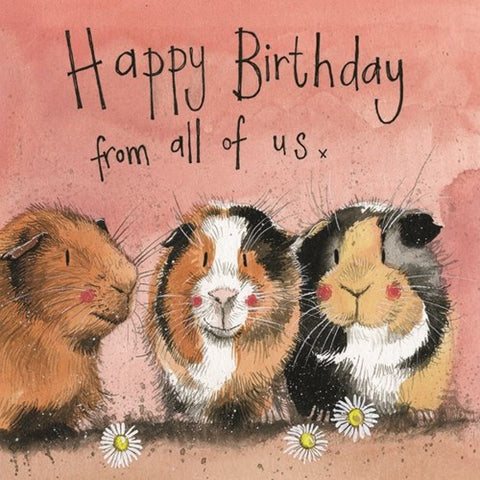 Birthday Card - The Three Guineas