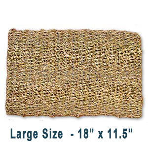 Double Weave Seagrass Mat