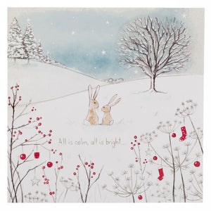 Christmas Card - All is Calm, All is Bright