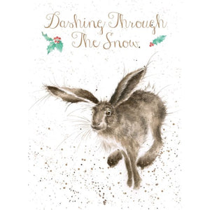 Christmas Card - Dashing Through The Snow
