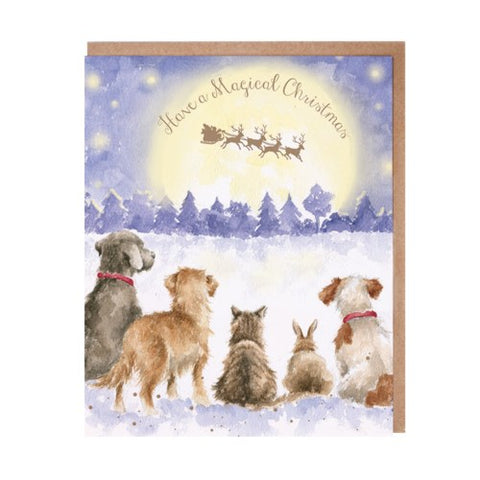 Christmas Card - Have a Magical Christmas