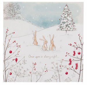 Christmas Card - Once Upon a Starry Night