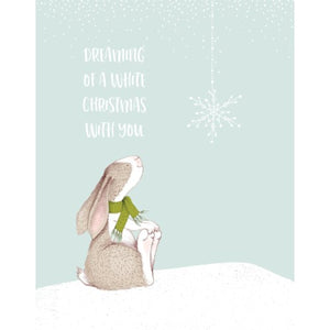 Christmas Card - White Christmas With You