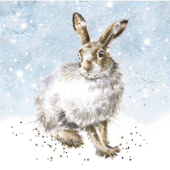 Christmas Card - Winter Hare