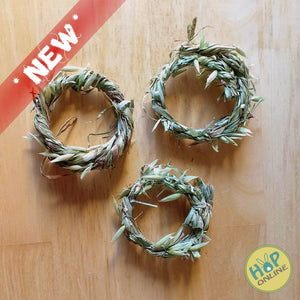 "Grass & Vine Ring (3"")"