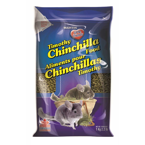 Martin Timothy Chinchilla Food