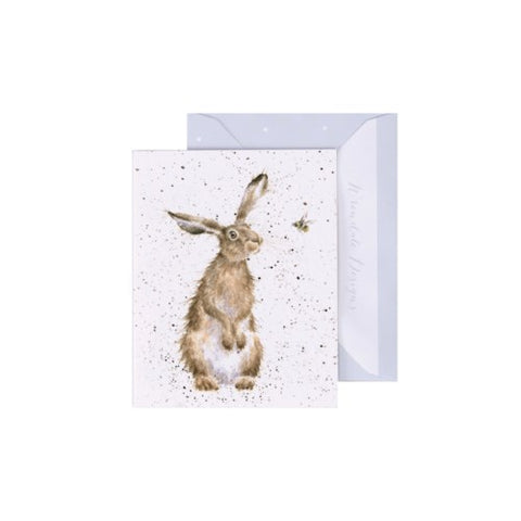 Blank Mini Card - The Hare and the Bee