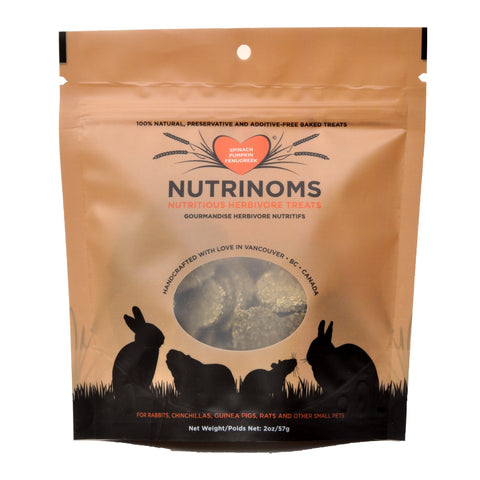 NutriNoms Artisan Treats - Spinach/Pumpkin/Fenugreek