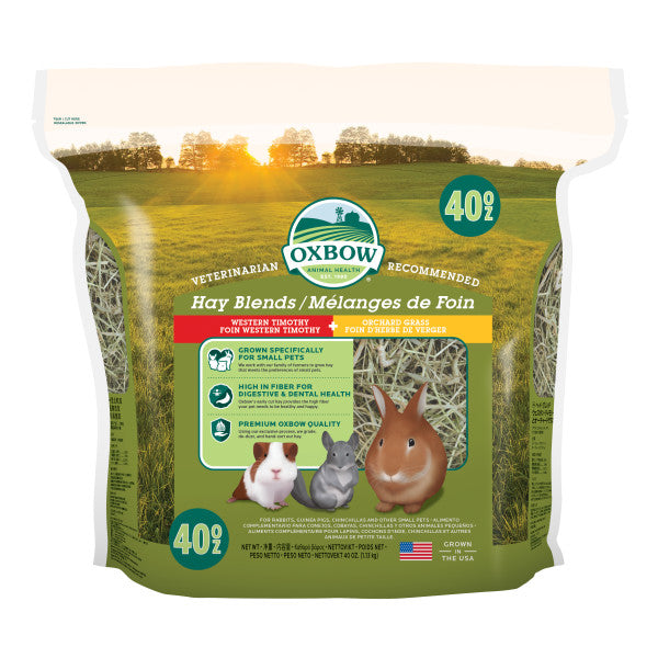Oxbow Hay Blends - Western Timothy and Orchard Grass