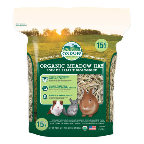 Oxbow BT Organic Meadow Hay 15oz