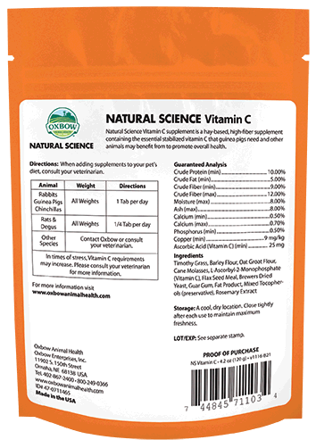 Oxbow NS Vitamin C Supplement