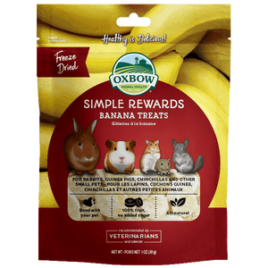 Oxbow SR Banana Treat 1oz