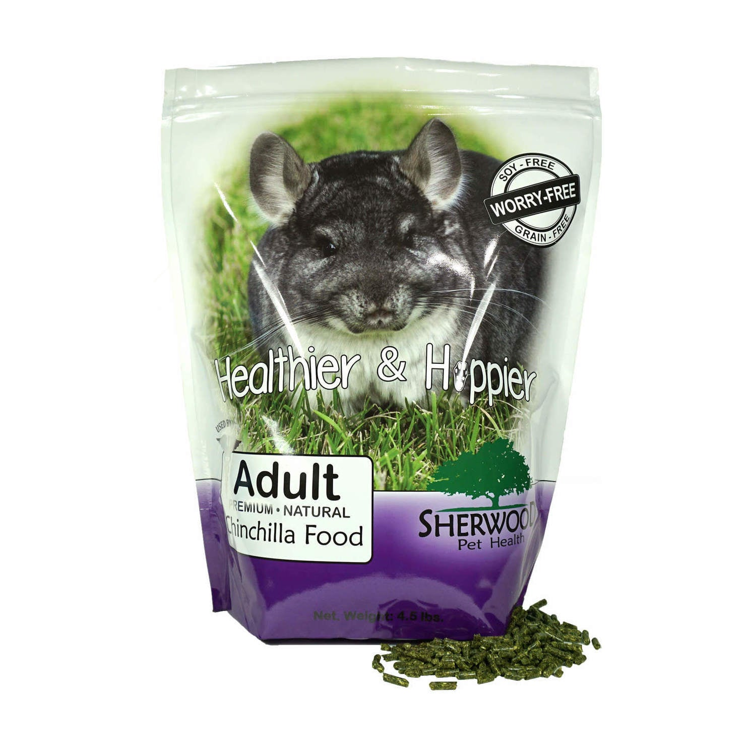 Sherwood Adult Chinchilla