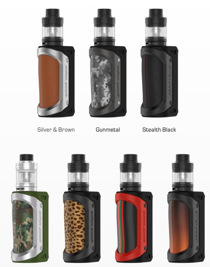 GeekVape Aegis 100w + Shield Tank Kit