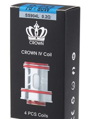 Uwell Crown 4 Replacement Coils 4pk