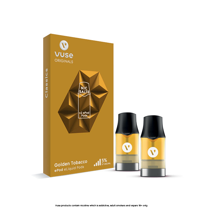 Vuse ePod Golden Tobacco Cartridges