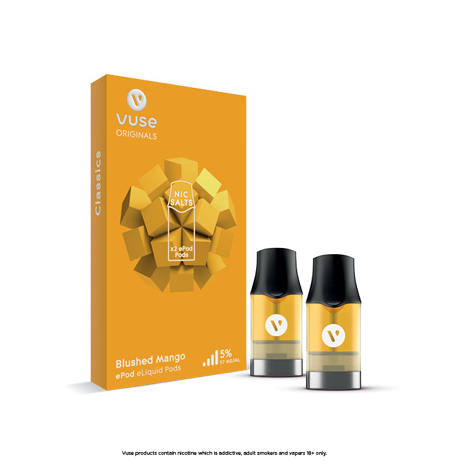 Vuse ePod Blushed Mango Cartridges