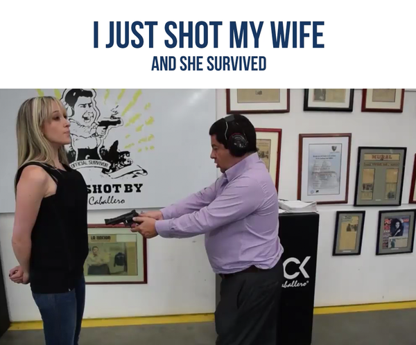 I SHOT MY WIFE