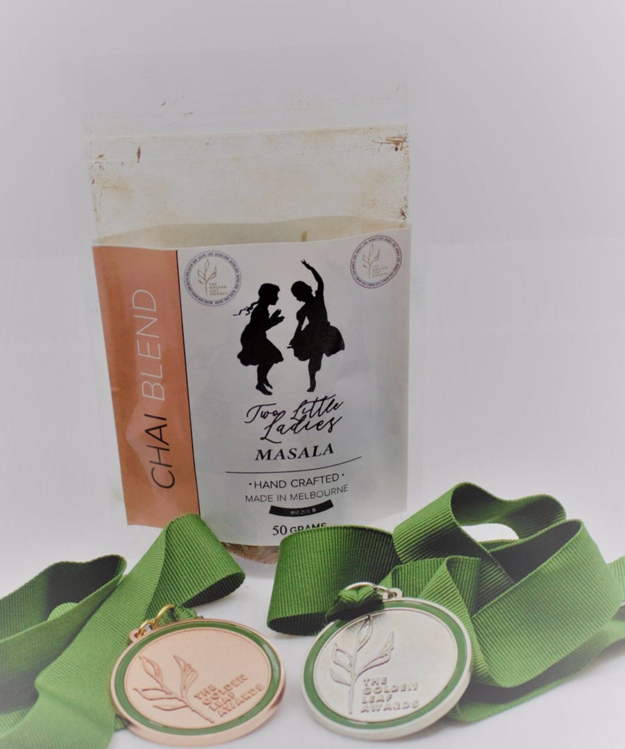 Two Little Ladies Masala Chai ( Silver medal winner in the 2019 Golden Leaf Awards)