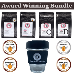 Award Winning Coffee Bundle And 12oz Keep Cup