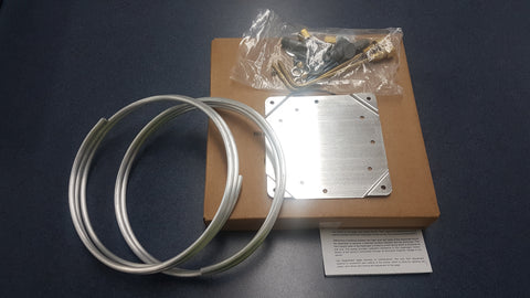 Mounting Kit for: Magnehelic Spray Booth Pressure Gauge S-500PA