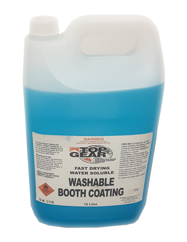 Washable Booth Coating