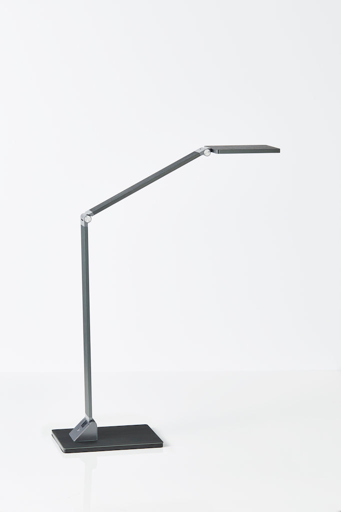Fremantle LED desk lamp in Grey Blue