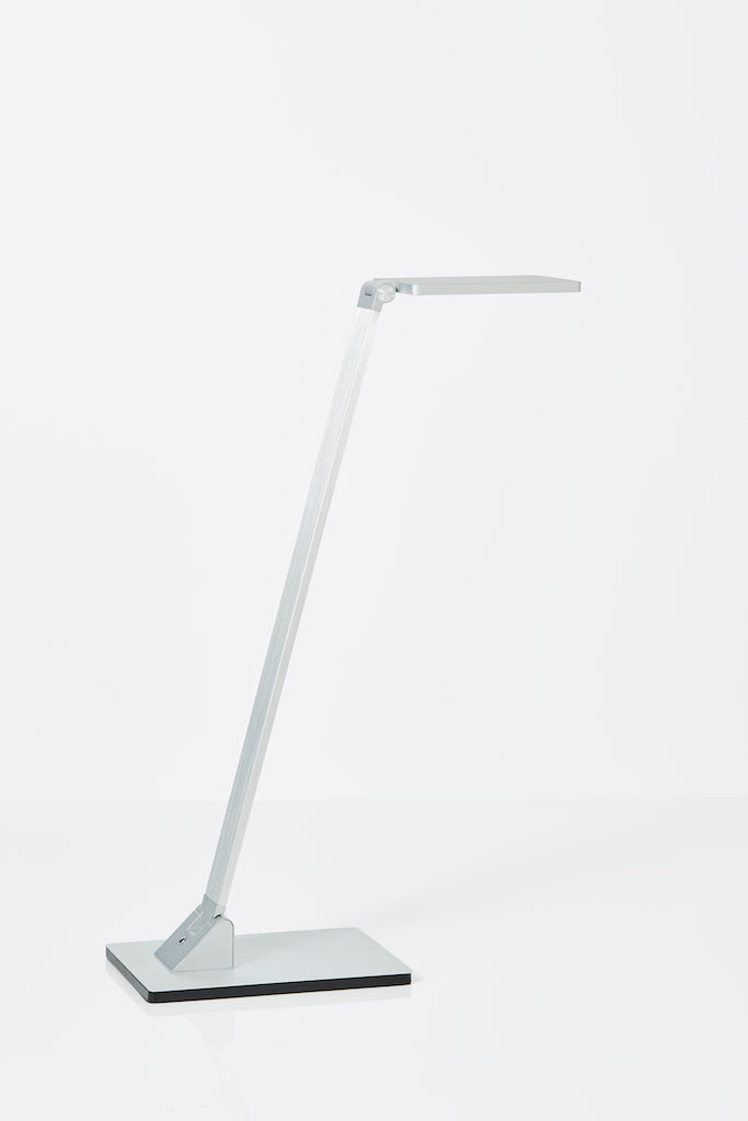 Fitzroy LED desk lamp in Aluminium