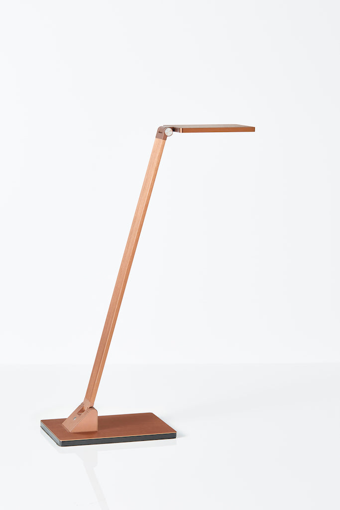Fitzroy LED desk lamp in Gold Coffee