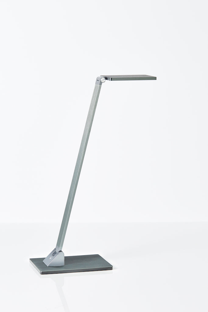 Fitzroy LED desk lamp in Grey Blue