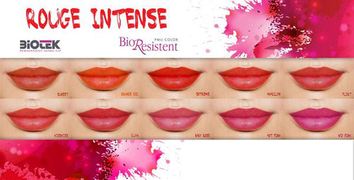 ROUGE INTENSE BIOTEK PIGMENTS