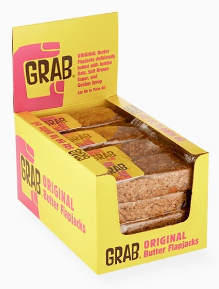 Grab Original Buttery Flapjacks 16x65g