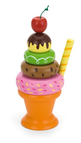 Sundae stacker