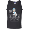 CustomCat Apparel Cotton Tank Top / Black / S Science is wise, follow its advice shirt