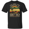 CustomCat Apparel First Annual WKRP Thanksgiving Day Turkey Drop Vintage T Shirt Funny Thanksgiving Gift