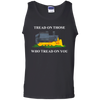 CustomCat Apparel Gildan 100% Cotton Tank Top / Black / S A men collection