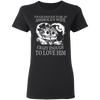 CustomCat Apparel Gildan Ladies' 5.3 oz. T-Shirt / Black / S A Women Collection