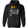 CustomCat Apparel Gildan Pullover Hoodie 8 oz. / Black / S It's Just A Bunch of Hocus Pocus Shirt Women Sanderson Sisters Halloween Funny Graphic Tees