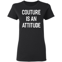 CustomCat Apparel Ladies' T-Shirt / Black / S A women shirt