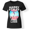 CustomCat Apparel Ladies' T-Shirt / Black / S harry-styles-fine line Funny T-Shirt for women