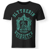 CustomCat Apparel Premium Men T-Shirt / Black / S Harry Potter Slytherin quidditch T-Shirt