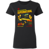 CustomCat Apparel Supernatural Ends Of The Road Tour T-Shirt For Women