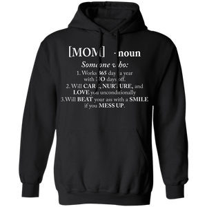 CustomCat Apparel Unisex Pullover Hoodie 8 oz. / Black / S A women shirt
