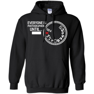 Everyone Is Photographer Until Manual Mode Hoodie Sweatshirts - Stephen & Kiara