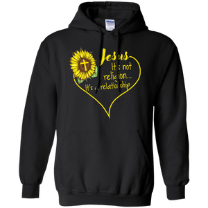 Jesus It's Not A Religion It's A Relationship Hoodie - Stephen & Kiara