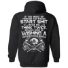 CustomCat Sweatshirts Black / S A Viking Hoodie