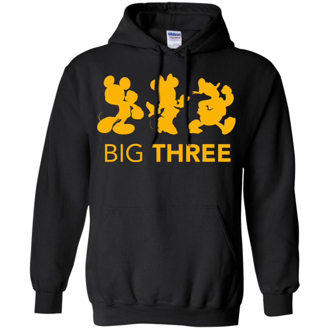 Big Three Hoodie Sweatshirts - Stephen & Kiara