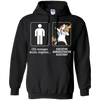 Dabbing executive administrative assistant unicorn vs CEO doctor engineer Hoodie Sweatshirts - Stephen & Kiara