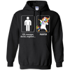 Dabbing Painter unicorn vs CEO doctor engineer Hoodie Sweatshirts - Stephen & Kiara