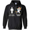 Dabbing Recreation worker unicorn vs CEO doctor engineer Hoodie Sweatshirts - Stephen & Kiara